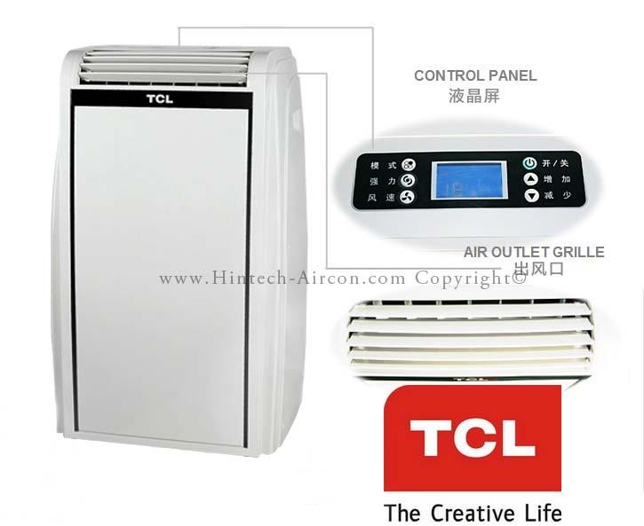 tcl-20000btu-portable-aircon-front