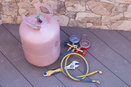 r410a gas topup